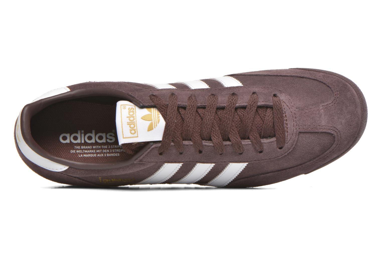 Sneaker Adidas Originals Dragon braun ansicht von links