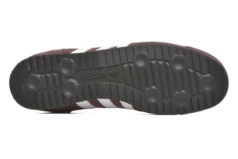Sneaker Adidas Originals Dragon braun ansicht von oben