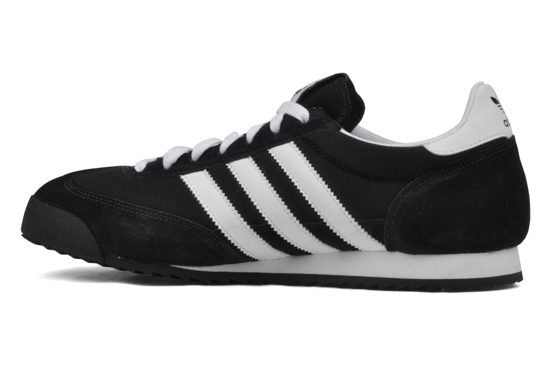 Sneaker Adidas Originals Dragon schwarz ansicht von vorne