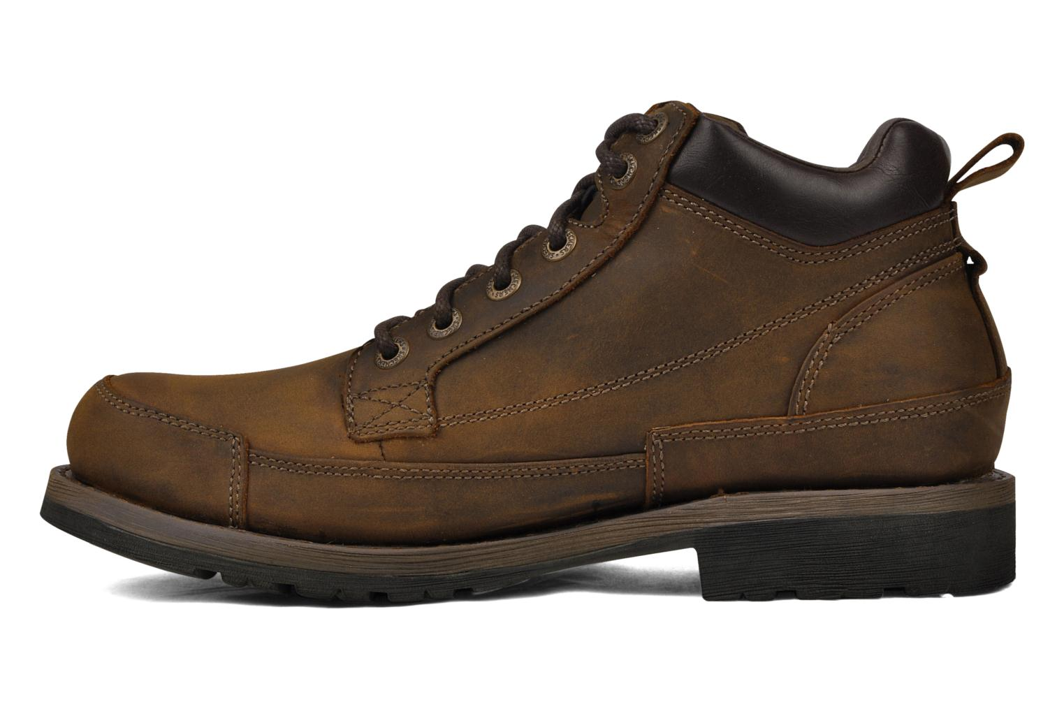 Lace-up shoes Skechers Shockwaves Regions 61737 Brown front view