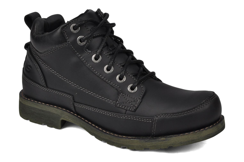 Chaussures à lacets Skechers Shockwaves Regions 61737 Noir vue détail/paire