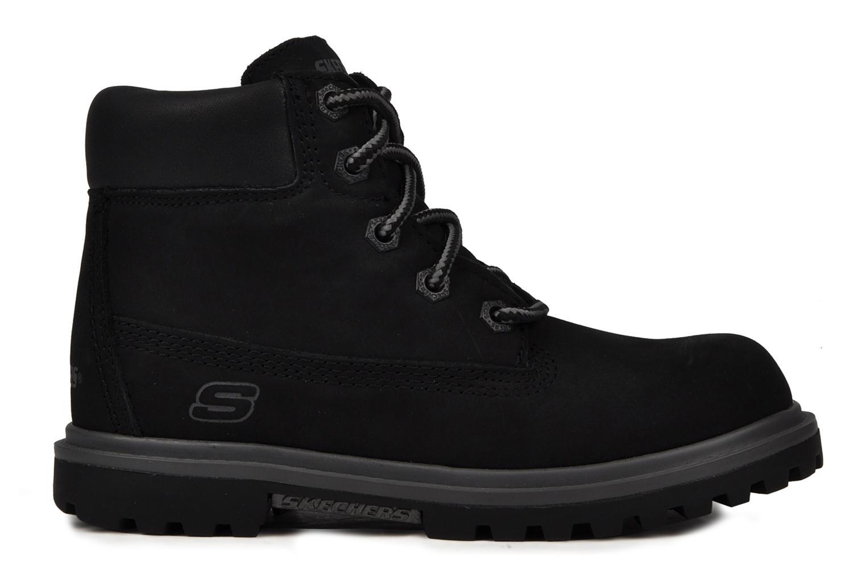Boots en enkellaarsjes Skechers Lumberjack Zwart achterkant