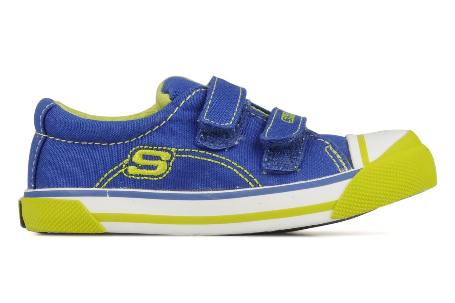 Trainers Skechers Papoose Blue back view