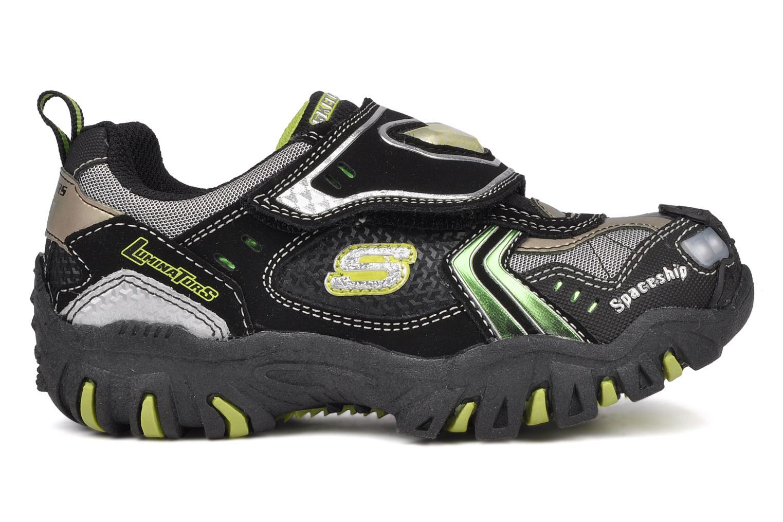 Sneakers Skechers Spaceship Zwart achterkant