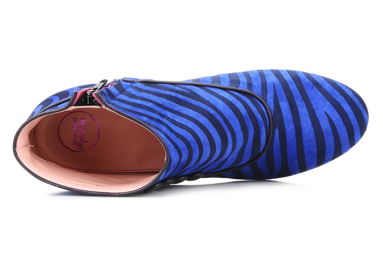 Bottines et boots Annabel Winship Famous Bleu vue gauche