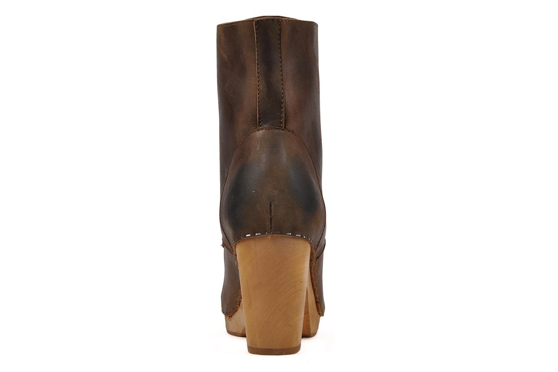 Bottines et boots Jeffrey Campbell Erikson Marron vue droite