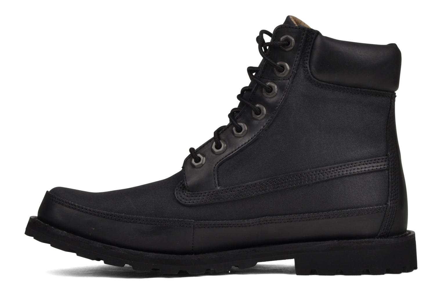 Bottines et boots Timberland 6 Inch Earthkeepers Noir vue face