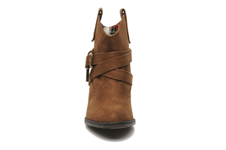 Boots Rocket Dog Satire Brun bild av skorna på