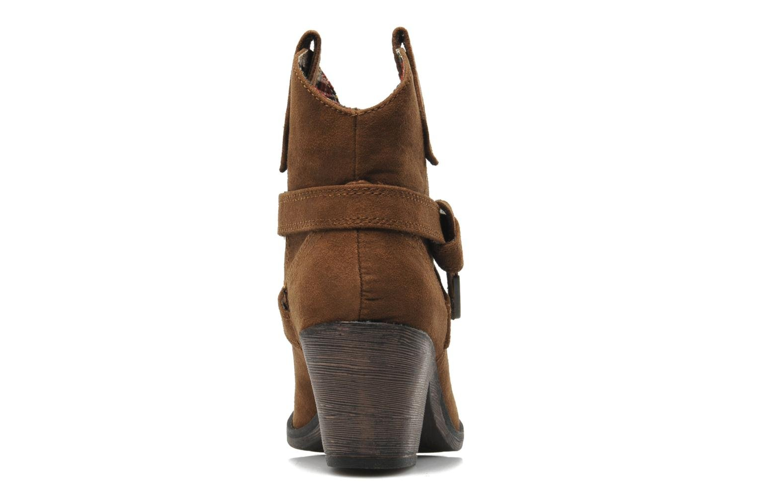 Ankle boots Rocket Dog Satire Brown view from the right