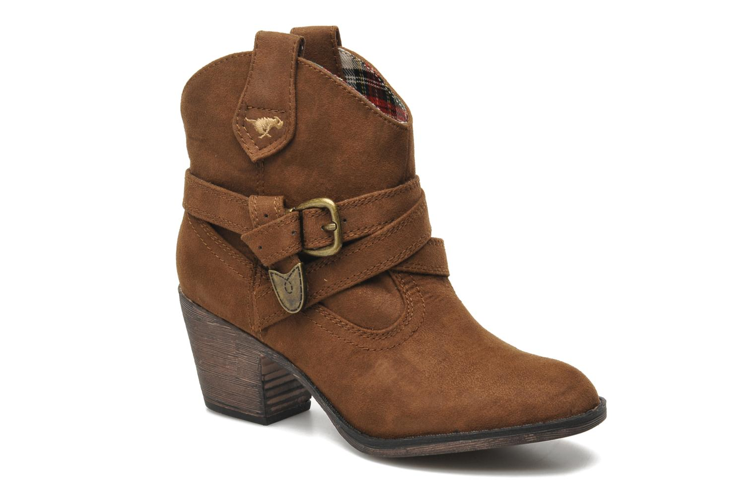 Ankle boots Rocket Dog Satire Brown detailed view/ Pair view