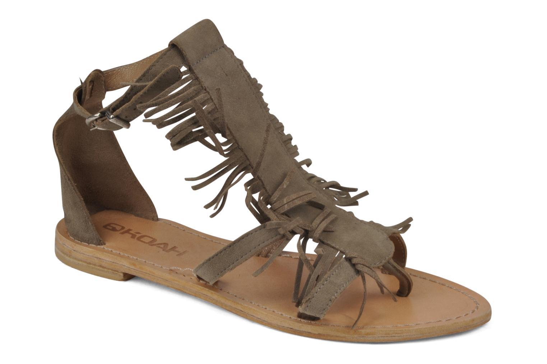 Sandales et nu-pieds Koah Elha Beige vue détail/paire
