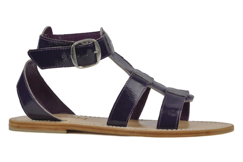 Sandales et nu-pieds Koah Ital Violet vue derrière