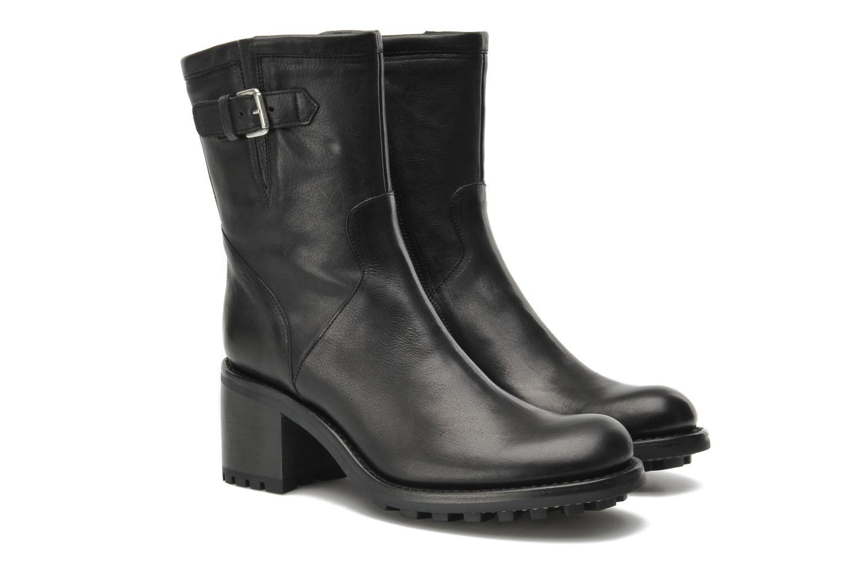 Ankle boots Free Lance Biker 7 mini gero Black 3/4 view