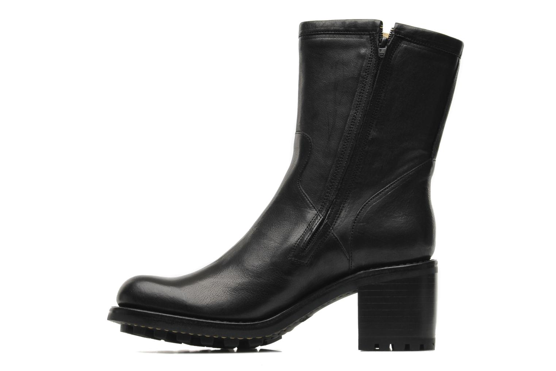 Ankle boots Free Lance Biker 7 mini gero Black front view