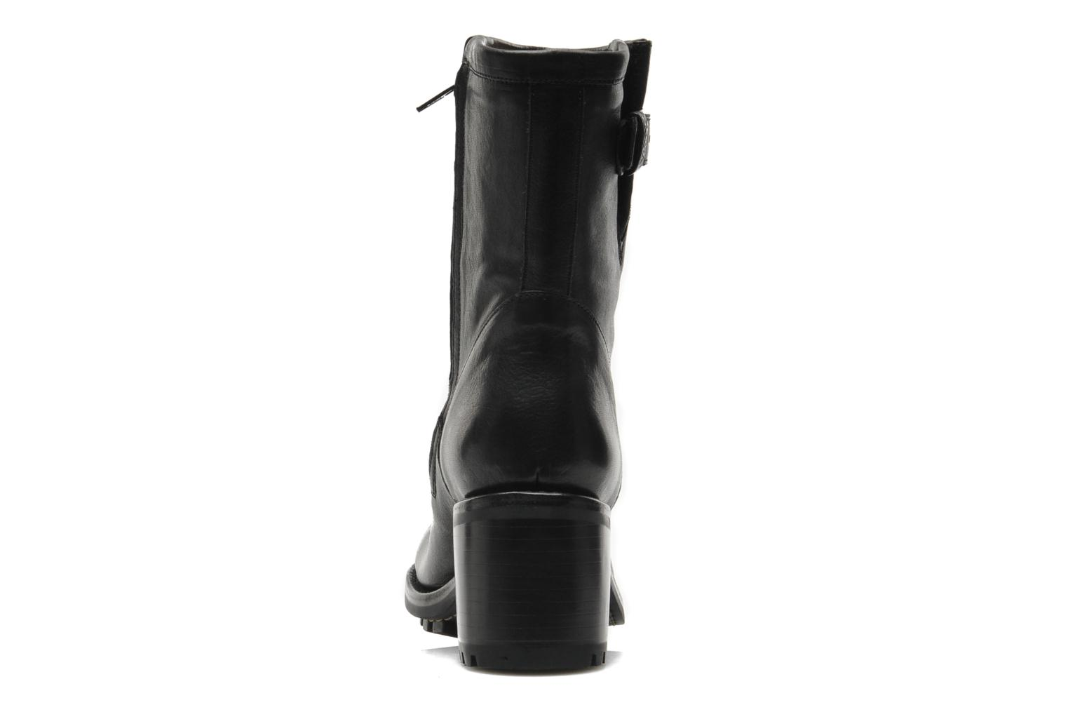 Ankle boots Free Lance Biker 7 mini gero Black view from the right