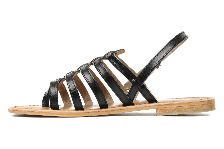 Sandales et nu-pieds Les Tropéziennes par M Belarbi Herisson Noir vue face