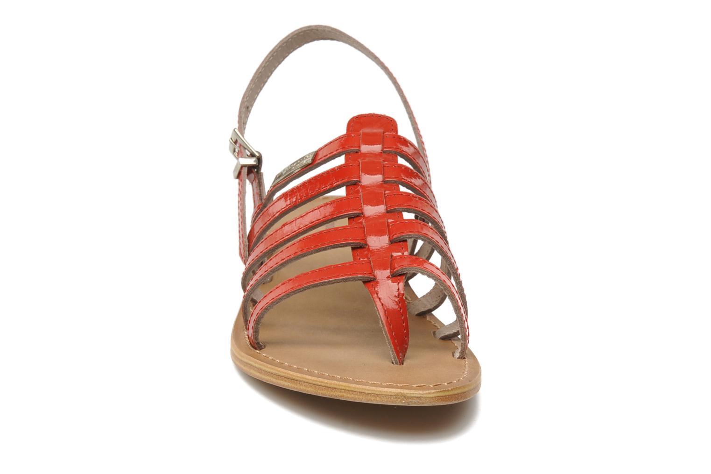 Sandali e scarpe aperte Les Tropéziennes par M Belarbi Herisson Rosso modello indossato
