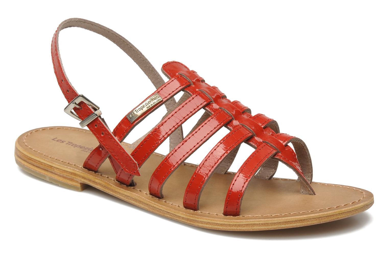 Marques Chaussure femme Les Tropéziennes par M Belarbi femme Herisson Rouge Foncé Vernis
