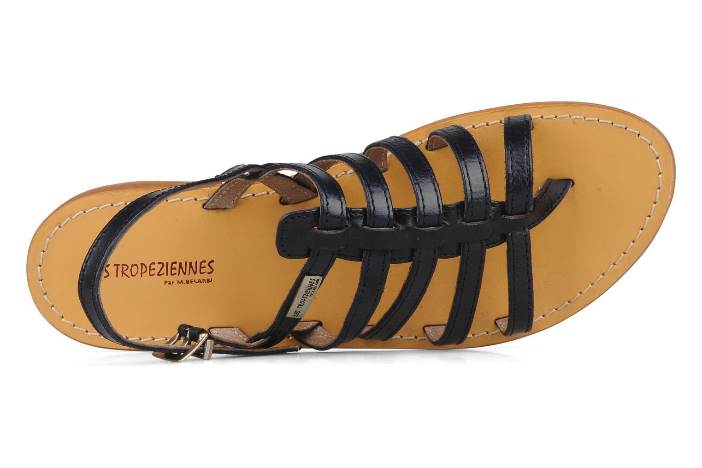 Sandales et nu-pieds Les Tropéziennes par M Belarbi Herisson Bleu vue gauche