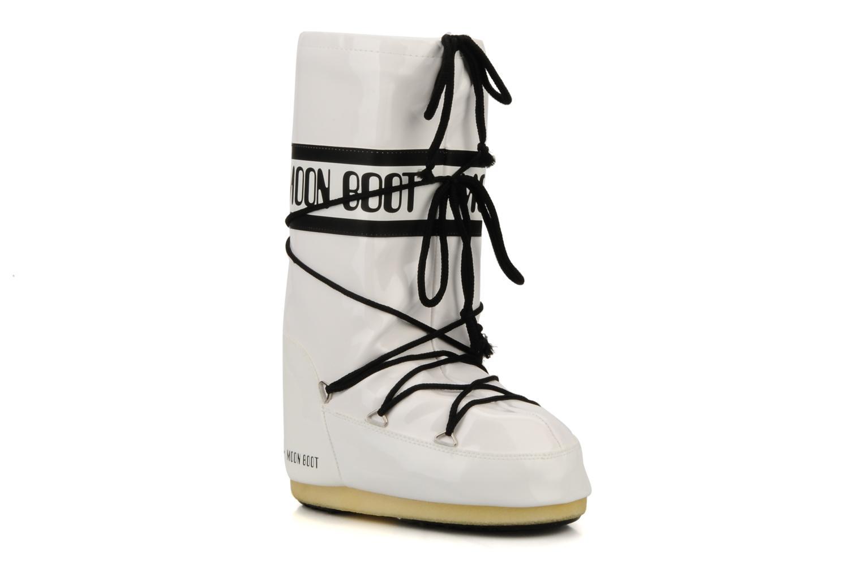 Chaussures de sport Moon Boot Vinil Blanc vue détail/paire