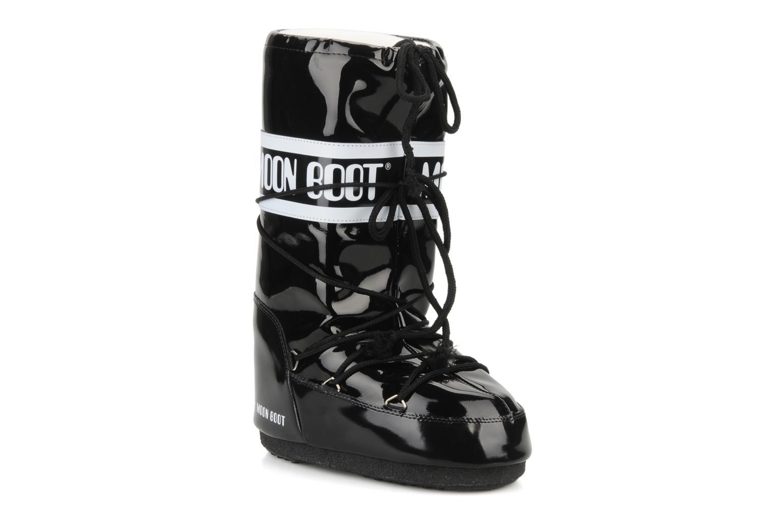 Chaussures de sport Moon Boot Vinil Noir vue détail/paire