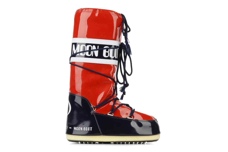 Chaussures de sport Moon Boot Vinil Rouge vue derrière
