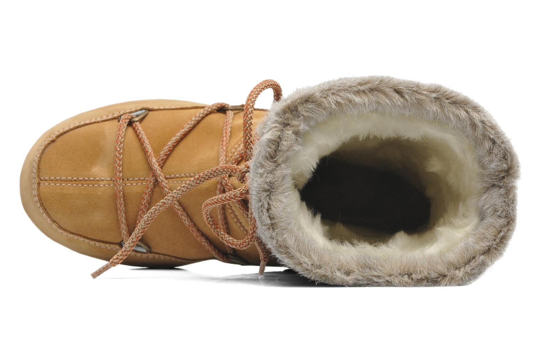 Stivaletti e tronchetti Moon Boot Butter mid Marrone immagine sinistra