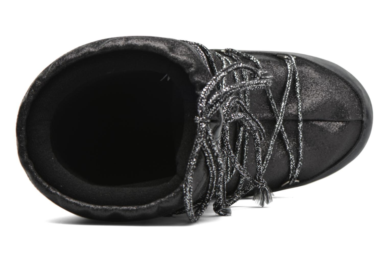 Stiefel Moon Boot Delux schwarz ansicht von links