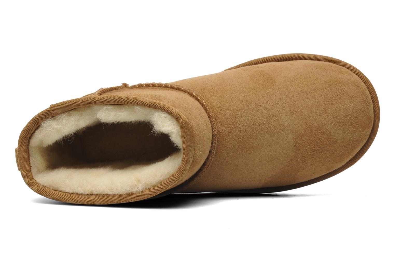 Stiefeletten & Boots UGG Kid's classic short beige ansicht von links