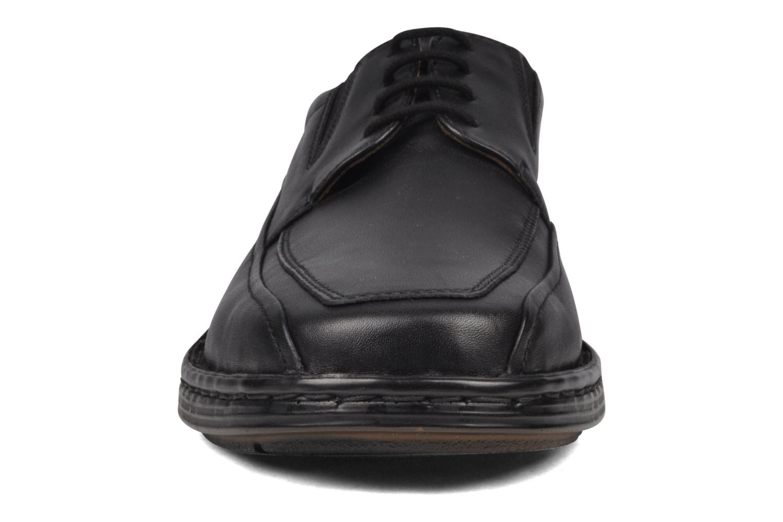 Chaussures à lacets Josef Seibel Brian Noir vue portées chaussures