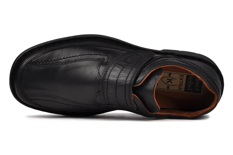 Chaussures à scratch Josef Seibel Bradfjord 06 Noir vue gauche