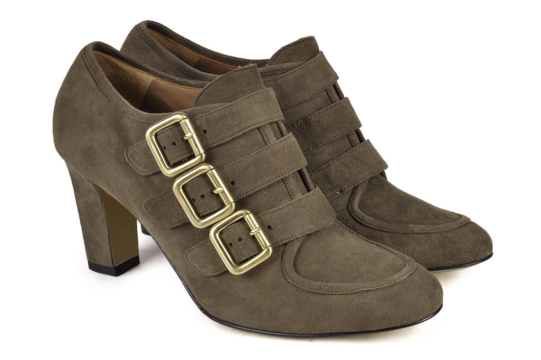 Bottines et boots Avril Gau Flash Gris vue 3/4