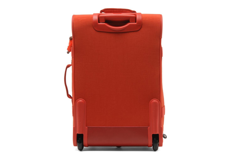 Reisegepäck Kipling Teagan S rot ansicht von vorne