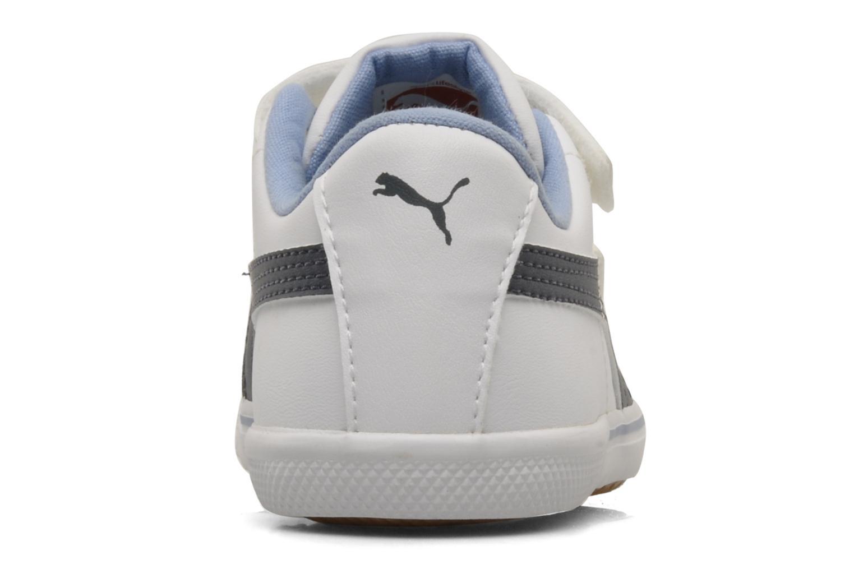 Sneaker Puma Benecio l kids weiß ansicht von rechts