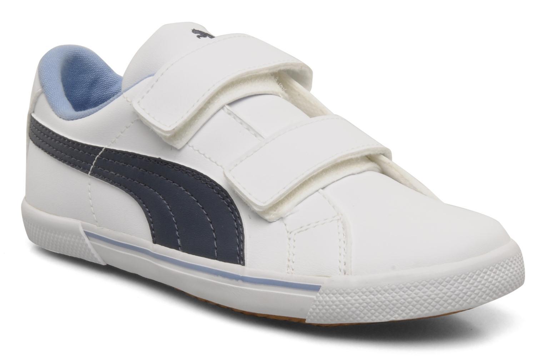 Sneaker Puma Benecio l kids weiß detaillierte ansicht/modell