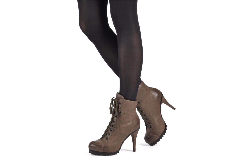 Bottines et boots Ash Patty Marron vue bas / vue portée sac