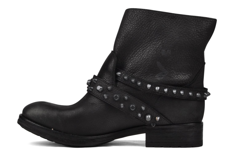 Bottines et boots Ash Reverso bis Noir vue face
