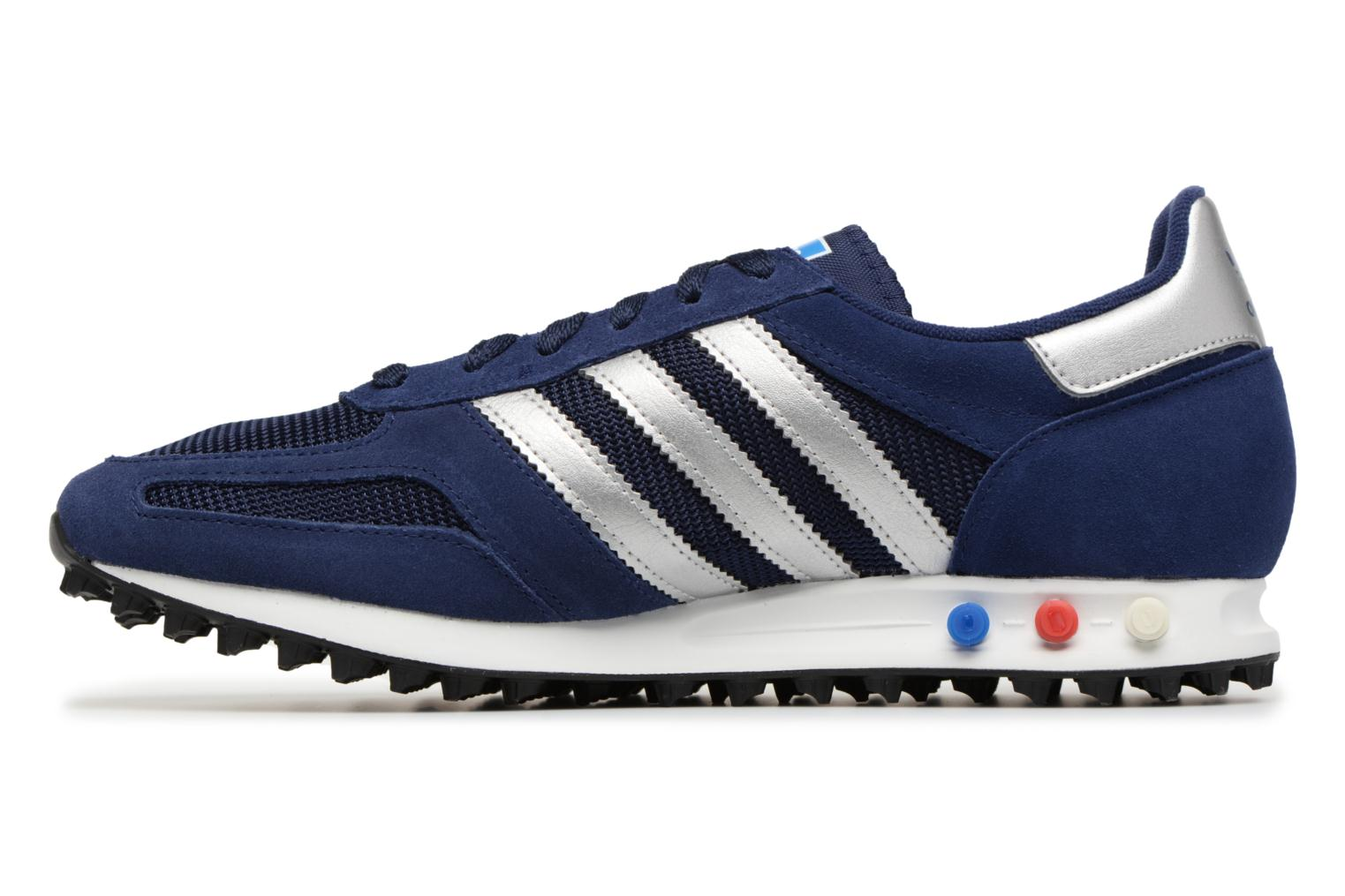 Baskets Adidas Originals LA Trainer Bleu vue face