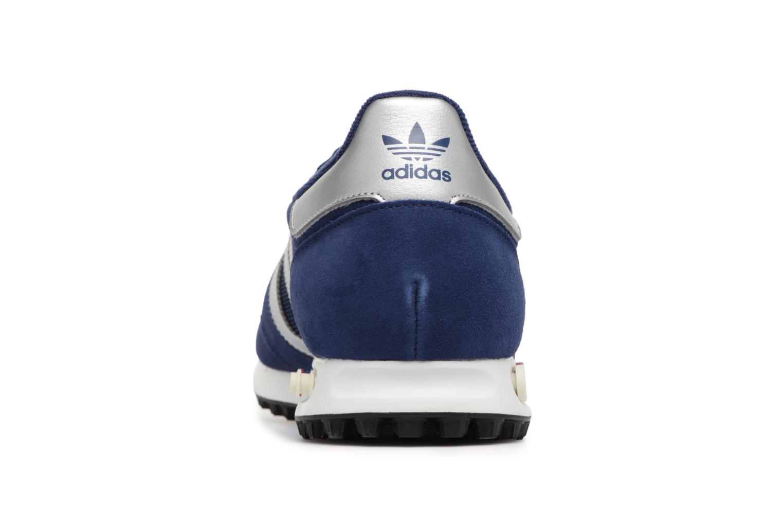 Baskets Adidas Originals LA Trainer Bleu vue droite