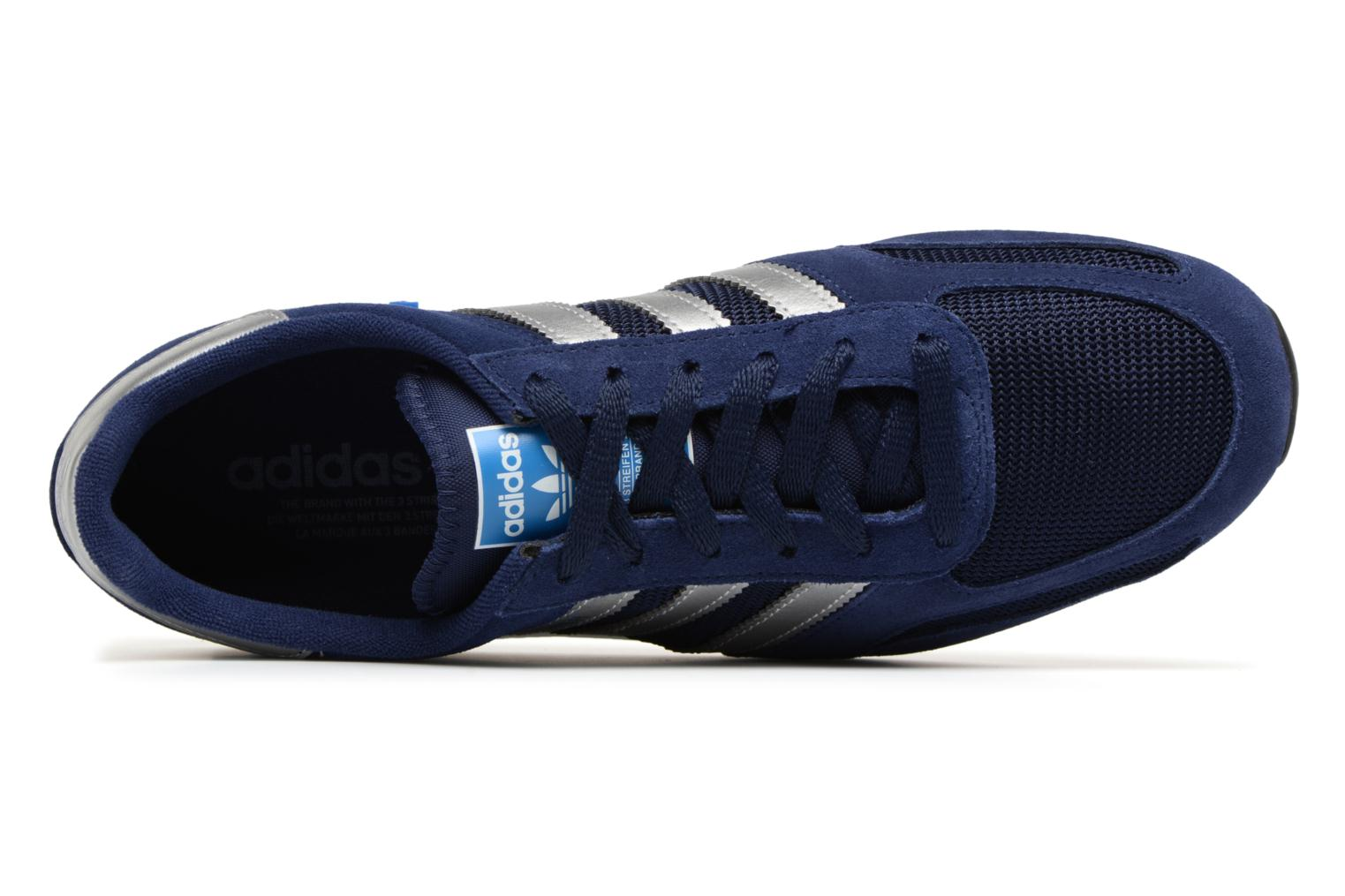 Baskets Adidas Originals LA Trainer Bleu vue gauche
