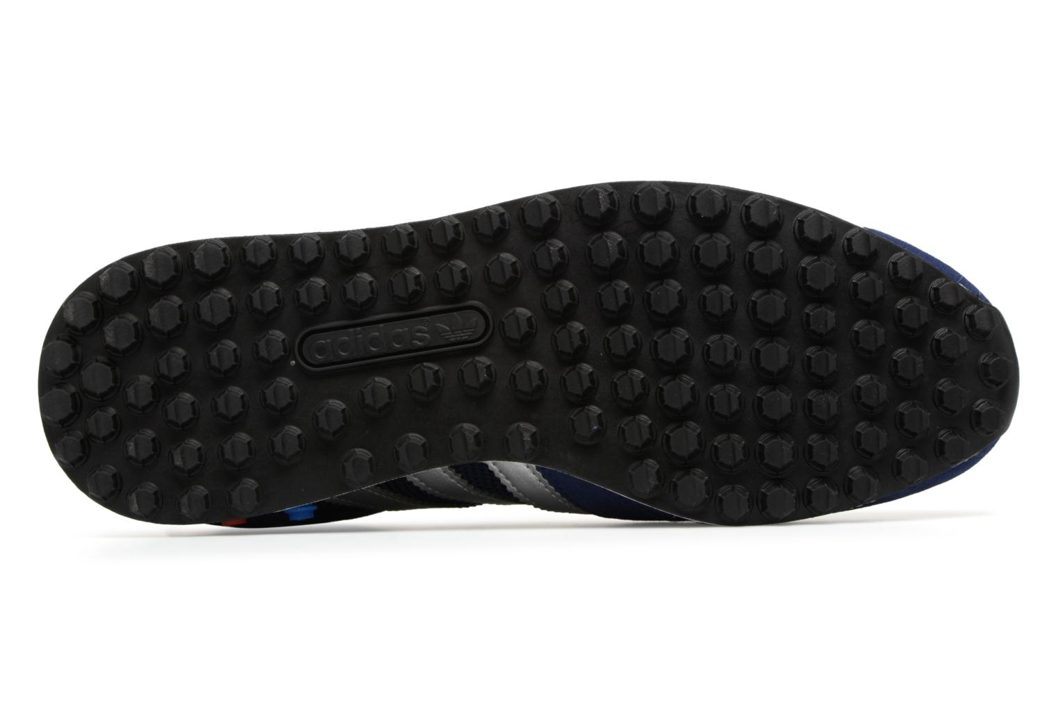 Baskets Adidas Originals LA Trainer Bleu vue haut