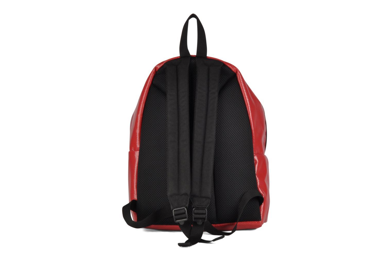 Zaini Manhattan Portage Big Apple Backpack MD Rosso immagine frontale