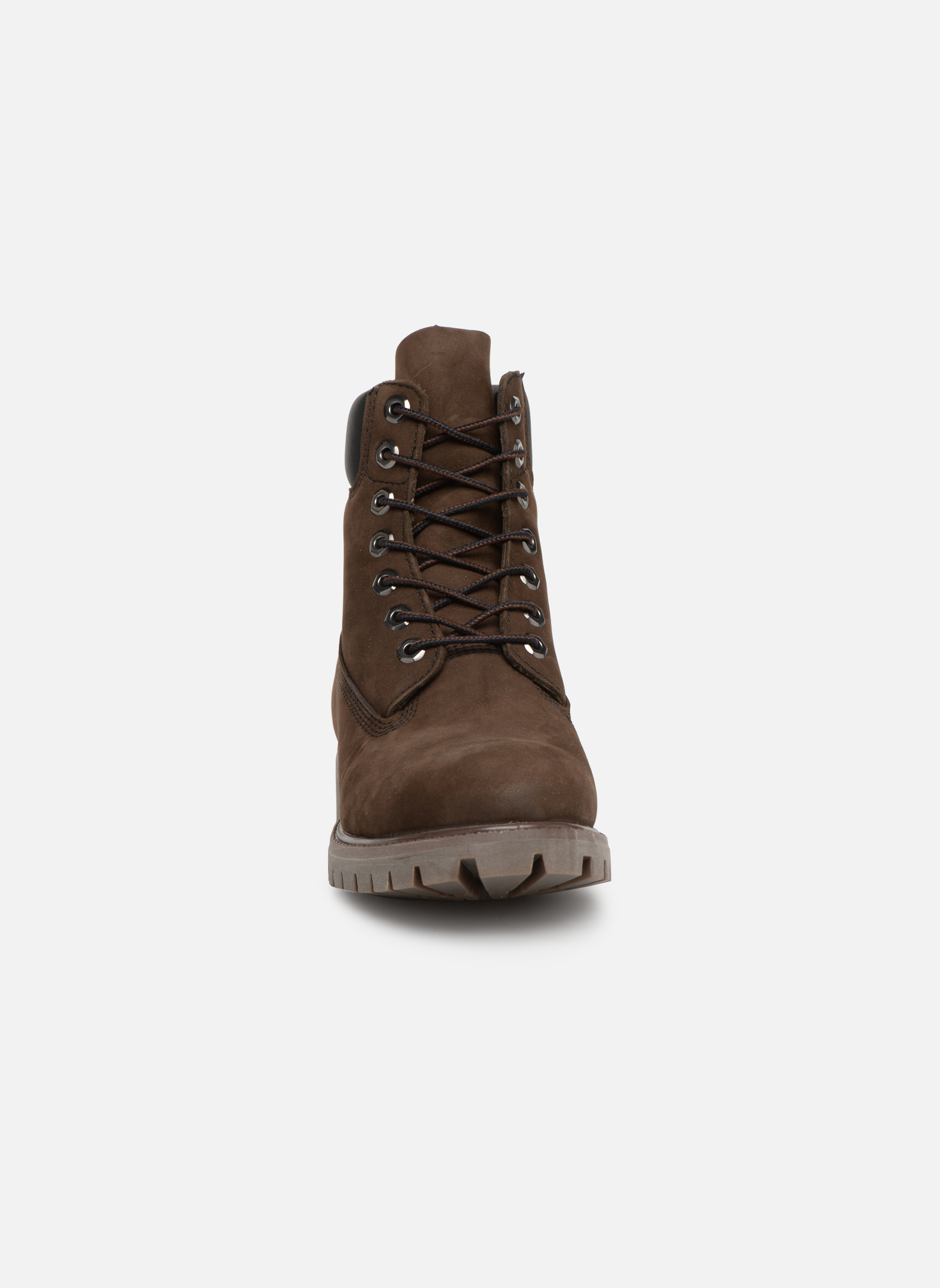 Bottines et boots Timberland 6in premium boot Marron vue portées chaussures
