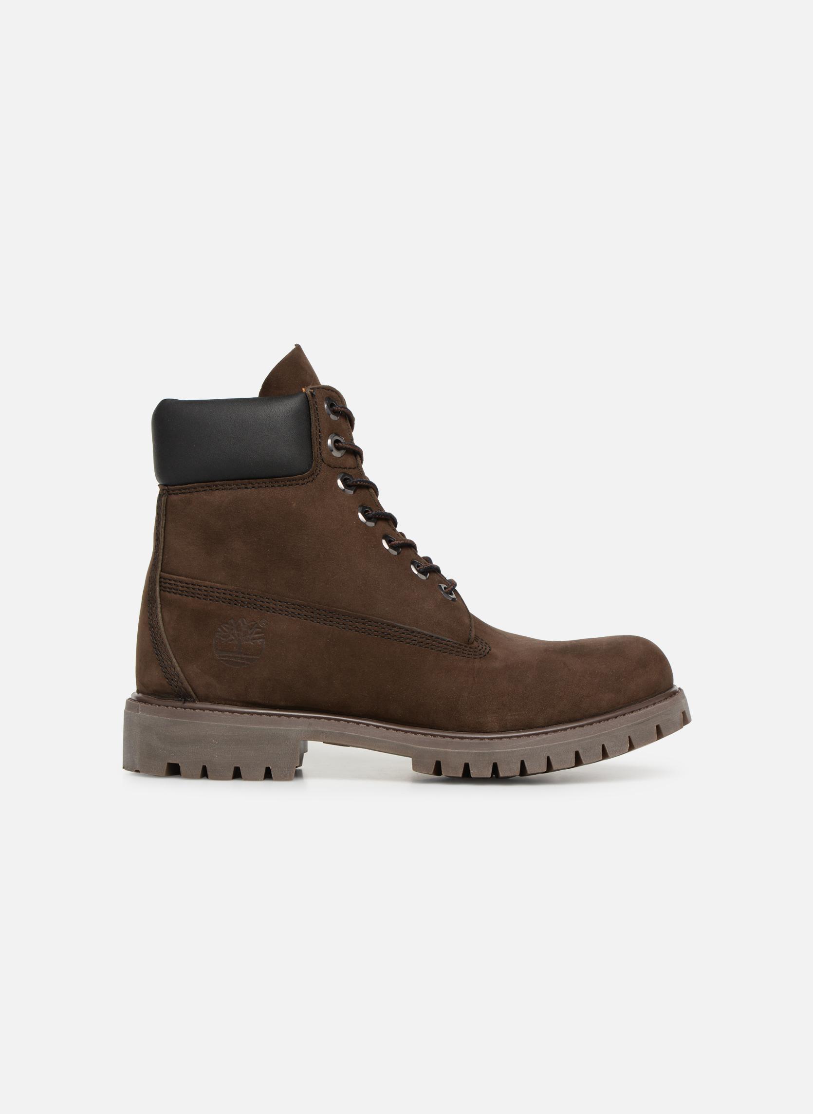 Stiefeletten & Boots Timberland 6 inch premium boot braun ansicht von hinten