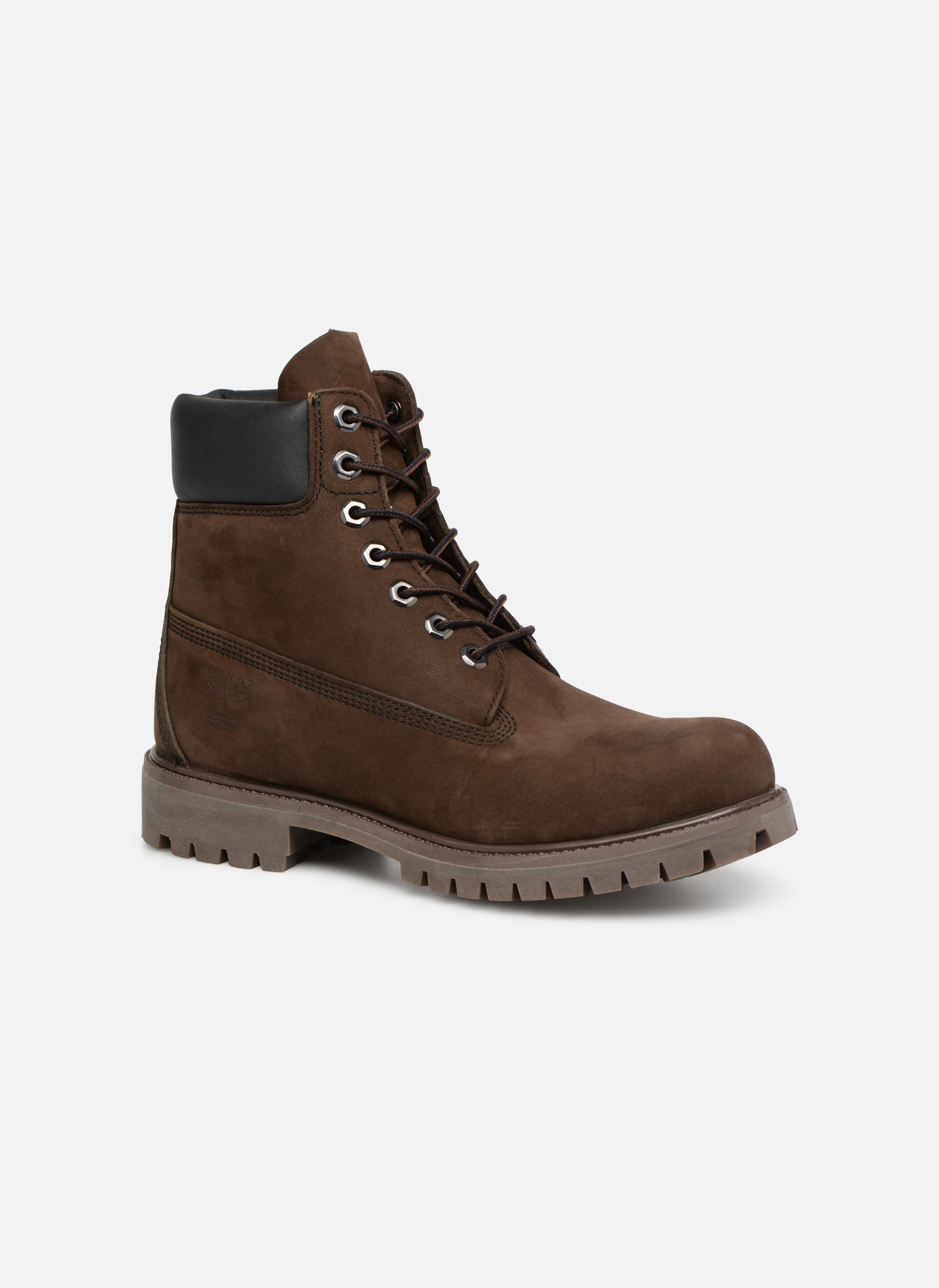 Stiefeletten & Boots Timberland 6 inch premium boot braun detaillierte ansicht/modell