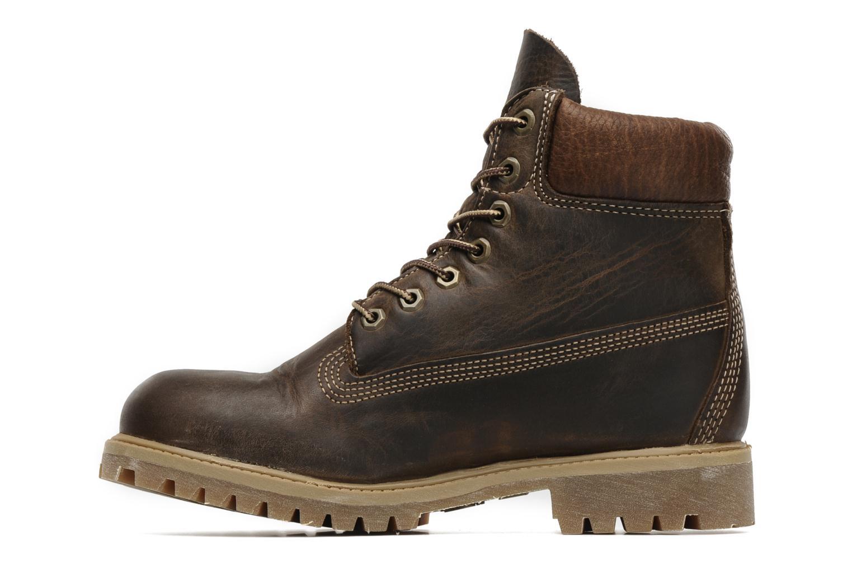 Stiefeletten & Boots Timberland 6 inch premium boot braun ansicht von vorne