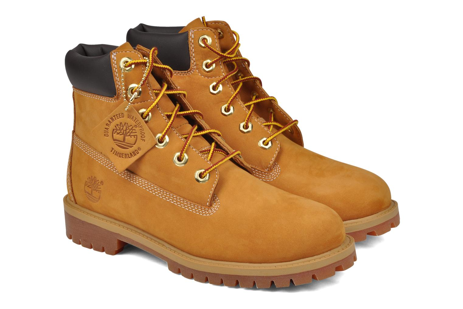 Ankle boots Timberland 6in premium boot Beige 3/4 view