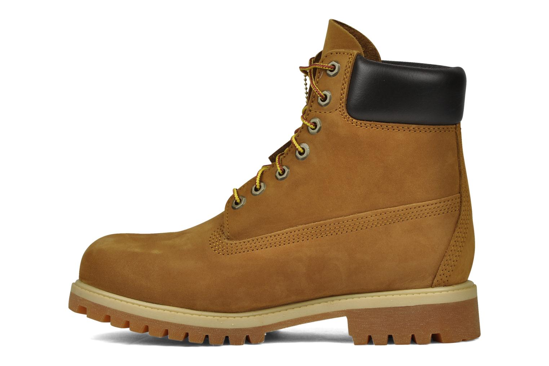 Stiefeletten & Boots Timberland 6 inch premium boot beige ansicht von vorne