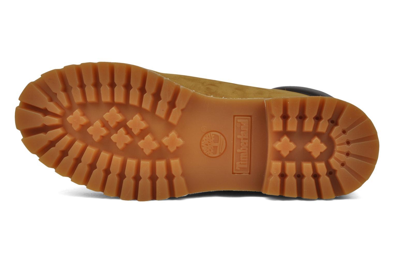 Stiefeletten & Boots Timberland 6 inch premium boot beige ansicht von oben