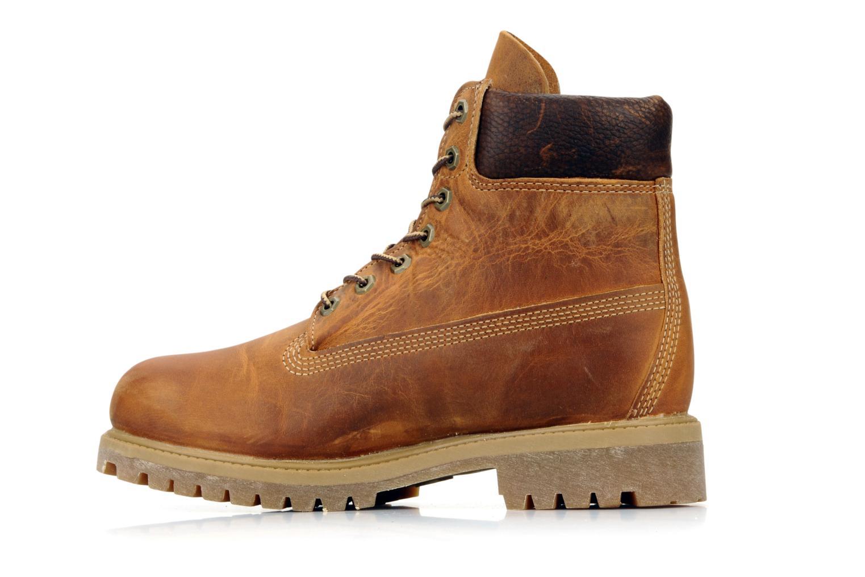 Boots en enkellaarsjes Timberland 6in premium boot Bruin voorkant